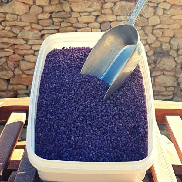 éclats de violettes cristallisées