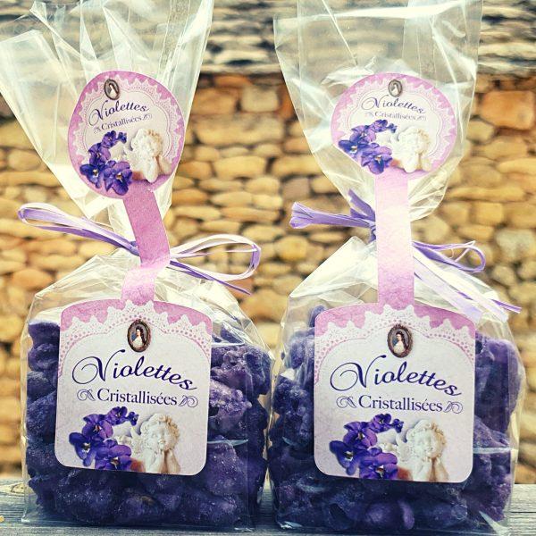 violettes cristallisées